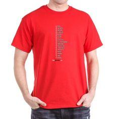 ruler_CORRECTED T-Shirt on CafePress.com