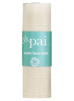 Pai Organic Muslin Face Cloth - Pai Skincare