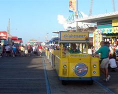 Watch the Tram Car! Rode the Tram Car many a time as a youngster vacationing at Wildwood! Good Times!