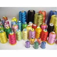 Embroidery thread should be strong, durable, washable and colorfast. Such polyester embroidery thread is perfect for decorating items that will be laundered often including baby items, uniforms and outdoor wear. Find the biggest collection of word class quality embroidery thread at Kayavlon Impex.