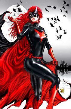 "darkbeautyss: ""Batwoman by mindywheeler "" Comic Book Characters, Marvel Characters, Comic Character, Comic Books Art, Comic Art, Character Design, Comic Pics, Dc Comics Series, Dc Comics Art"