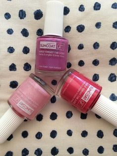 Non-Toxic Nail Polish from Suncoat // Perfect for kids!