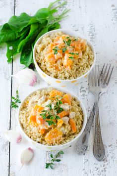 Creamy Quinoa and Pumpkin Bowls