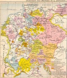 Deutschland und Oberitalien im 14. Jahrhundert (1378)