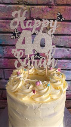 Birthday Cake, Cakes, Desserts, Food, Tailgate Desserts, Scan Bran Cake, Birthday Cakes, Kuchen, Dessert