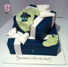 Polo Baby Shower Cake