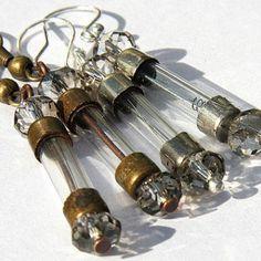 Old fuses into earrings- soooo neat