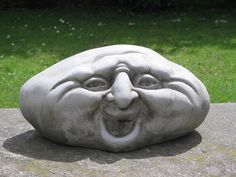 Pebble People Garden Ornament (D)