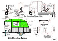 Homemade camper van plans DIY Camper Trailer Plans Homemade Camper Tr...