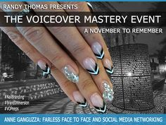 Nov 2014 - Randy Thomas Presents The Voiceover Mastery Event #‎BrandImmersion‬ ‪#‎NailBranding‬ ‪#‎VOPeeps‬ ‪#‎NailedIt‬ ‪#‎PhilipROCKS‬ See vopeeps.com for more information!