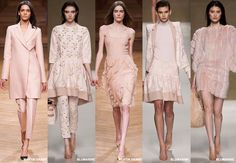 Blush - Colour Forecast Fall/Winter 2014/2015 - Runway Women's Fashion Photo: Trend Council DORLY DESIGNS: Our Top Runway Fashion Colours F/W 2014/2015 Part IV