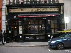 Rose & Crown  3.5 star rating   Category:   Pubs    [Edit]  2 Old Park Lane (right off Piccadilly) London W1K 1QN  Neighborhood: Mayfair 020 7499 1980    Nearest Transit Station: Hyde Park Corner,  Green Park   More Information  Hours: Mon-Sun 11 pm - 10:30 pm