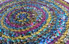 @Allison Sheehan for the shop    crochet rag rug