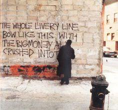 Graffiti SAMO de Jean-Michel Basquiat nos anos 80, Estados Unidos