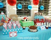 The Puppy/Dog Party Printable Party Collection. $35.00, via Etsy. pinkpeppermintprints