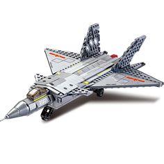 14884030-Building Block Sets Model Fighter Sound Flash Educational DIY Bricks Toys