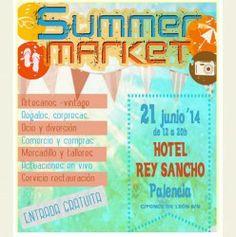 #Palencia #Shopping : #SummerMarket ^_^ http://www.pintalabios.info/es/eventos_moda/view/es/1562 #ESP #Evento #Mercado