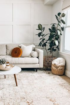 Three words Italian Carrera marble The Mara coffee table brings a touch of elegance to your living room Photo by Brianne Penney Boho Living Room, Living Room Grey, Living Room With Plants, Simple Living Room Decor, Living Soaces, Living Room Decor Green Couch, Living Room Apartment, Chairs For Living Room, Small Living Room Ideas With Tv