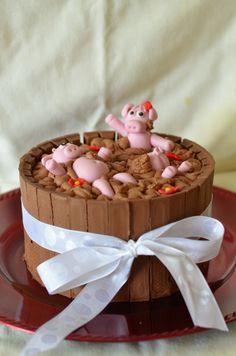 Pig Pen Cake