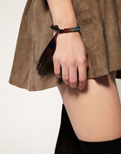 Limited Edition Friendship Bracelet with Feather