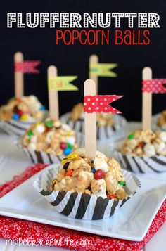Have friends over and serve Fluffernutter Popcorn Balls - all the cool kids are doing it