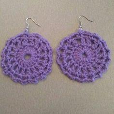 Πλεκτά σκουλαρίκια με βελονάκι  Crochet earrings Crochet Earrings, Jewelry, Fashion, Jewellery Making, Moda, Jewels, Fashion Styles, Jewlery, Jewerly