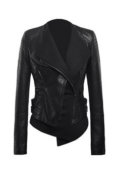 Great leather jacket for riding or just a night out! Biker Chick Jacket at Miss Iny. Look Fashion, Winter Fashion, Womens Fashion, Biker Style, Jacket Style, Jackett, Mantel, What To Wear, Style Me