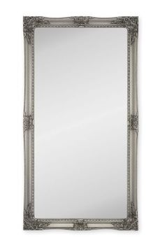 Buy Charlotte Pewter Floor Mirror from the Next UK online shop Decor, Floor Mirror, Mirror Table, Oversized Mirror, Wooden Glass Frames, Mantle Styling, Pewter, Glass, Mirror