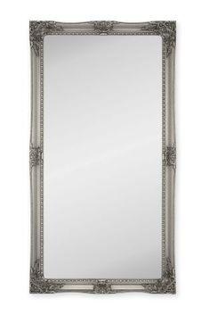 Charlotte Pewter Floor Mirror