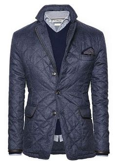 H.E.BY MANGO - NEW Anorak quilted jacket