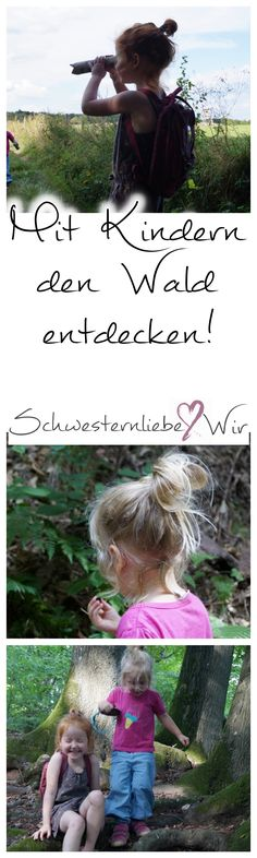 Ein Waldspaziergang mit vielen Entdeckungen A walk in the forest with many discoveries, Babysitting Activities, Infant Activities, Family Activities, Work Inspiration, Creative Kids, Kids And Parenting, Diy For Kids, Kids Playing, Discovery