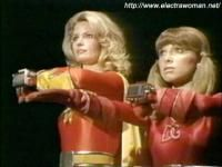 Electra Woman and Dyna Girl. I forgot that Deidre Hall played this role. Like her best on Days of Our Lives!