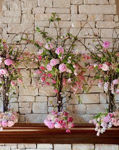idea for bridal shower flowers