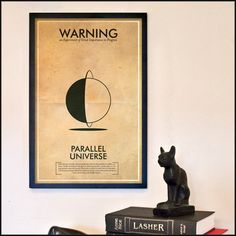 Fringe Science Warning Posters  Parallel Universe by TheGeekerie, $18.00