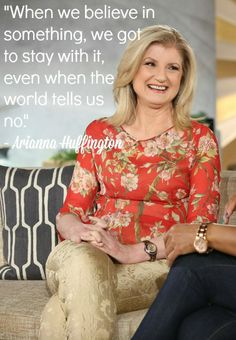 Arianna Huffington talks how to - Tap the link now to Learn how I made it to 1 million in sales in 5 months with e-commerce! I'll give you the 3 advertising phases I did to make it for FREE! Business Expense Tracker, Queen Latifah Show, Curvy Quotes, Super Soul Sunday, Quitting Your Job, Entrepreneur Inspiration, Successful Women, Words Quotes, Real Quotes
