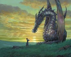 Anime Tales From Earthsea  Dragon Ghibli Anime Wallpaper