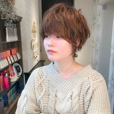 Pin on ショートボブ Short Hair Cuts, Short Hair Styles, Hair Beauty, Instagram, Hairstyles, Shirt Hair, Hairstyle, Bob Styles, Haircuts