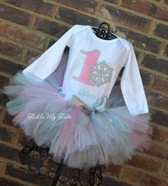Winter ONEderland Pink Snowflake Winter Themed Birthday Tutu Outfit-Snowflake Princess Tutu Set-Snowflake Birthday Tutu *Bow NOT Included* Birthday Tutu, 1st Birthday Girls, First Birthday Parties, Birthday Ideas, Birthday Pins, Tutu Size Chart, Tutu Outfits, Tutu Dresses, Winter Onederland