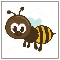 PPbN Designs - Cute Flying Bumblebee (Free for Members ONLY), SVG files, cutting files, die cuts, SVG