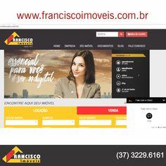 Acesse nosso site e conheça todos os imóveis disponíveis para venda e locação. http://franciscoimoveis.com.br/