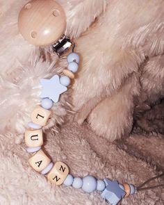 ⭐💙⭐ #nuggiketten #nuggikette #istaboy #sternenkind #babyblau #luan #name #thun #handgemacht #mami2019 Little Star, Instagram, Baby Blue, Necklaces