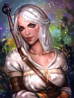 Ciri (Witcher 3) Commission by AyyaSap