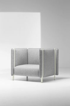 Upholstered Seating with Pinched Cushions 2019 A lounge chair from the Pinch seating system by Skrivo Design for Italian furniture brand La Cividina. The post Upholstered Seating with Pinched Cushions 2019 appeared first on Fabric Diy. Cheap Patio Furniture, Cool Furniture, Furniture Design, Furniture Ideas, Furniture Logo, Steel Furniture, Bespoke Furniture, French Furniture, Minimalist Bed