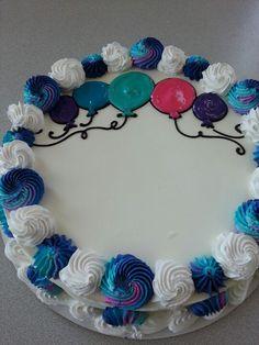 Dairy Queen Cake Balloons