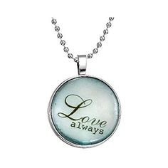 """Mr Rabbit Fashion Jewelry \""""Love Always\"""" Time Gem Pendant Necklaces,A symbol of boundless love -- You can get additional details at the image link."""