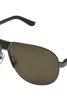 Salvatore Ferragamo SF136SP (Shiny Gunmetal) Fashion Sunglasses - Salvatore Ferragamo, SF136SP, SF136SP-035, Eyewear Fashion General, Fashion Eyewear, Fashion, Eyewear, Gift, - Street Fashion And Style Ideas