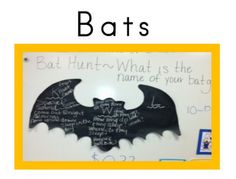 Me and My Gang~introduce your class to BATS with this fun KWL