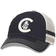 cb4413bfac0 Chicago Cubs 1908 Cooperstown Foundry Striped Trucker Adjustable Cap by  American Needle  ChicagoCubs  Cubs