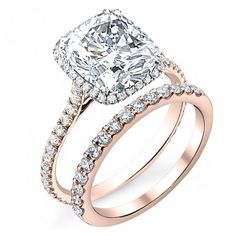 Most Beautiful Cushion Cut Engagement Ring On the Planet !
