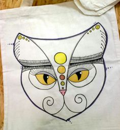 Bag with cat